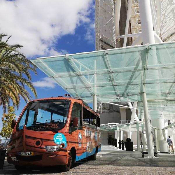 autocarro em serviço ocasional em Lisboa pick upp hotel grupo privado