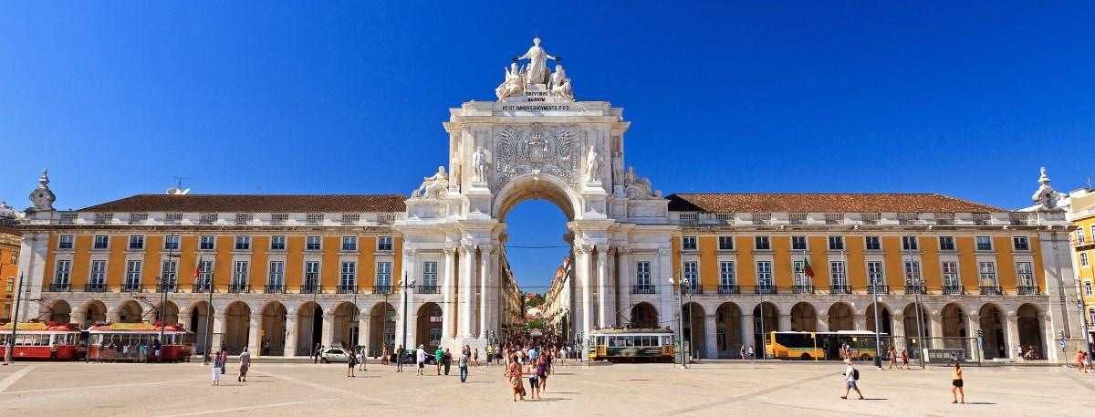 Lisboa Terreiro do Paço or Praça do Comércio